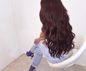 hair, beauty, and heels image