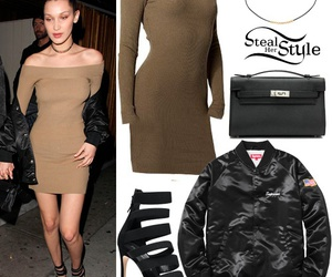 steal her style and bella hadid image