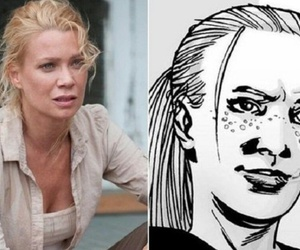 andrea, laurie holden, and the walking dead image