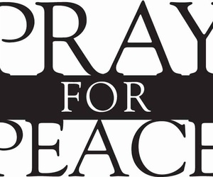 peace and pray image