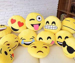 emoji, emojis, and pillow image