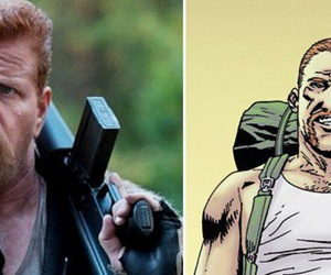 Abraham, the walking dead, and michael cudlitz image