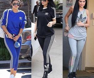 adidas, fashion, and jenner image