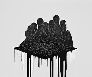 art, arte, and black image