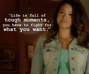 jane the virgin, quote, and fight image