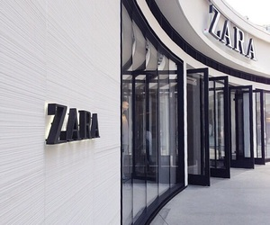 Zara, fashion, and shopping image