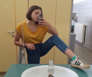 yellow, pale, and aesthetic image