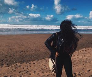 beach, black, and body image