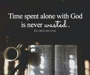 god, time, and jesus image