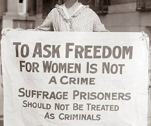 bold, heroes, and suffragette image