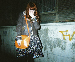 girl, disposable, and hipster image
