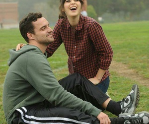 laugh, new girl, and nick miller image