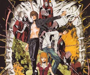 death note, anime, and misa amane image