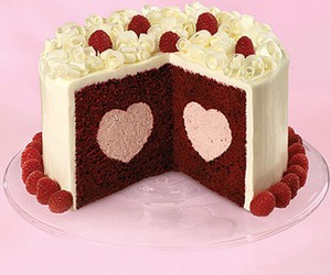 cake and heart image
