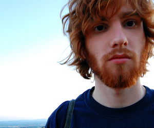 boy, beard, and ginger image
