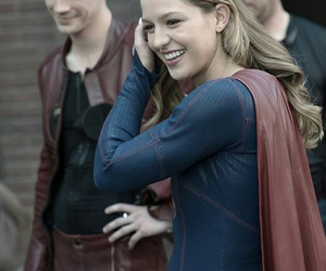 Supergirl, barry allen, and flash image