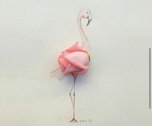 rose, pink, and art image