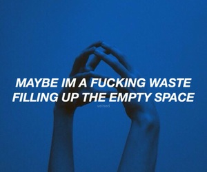 aesthetic, all time low, and blue image