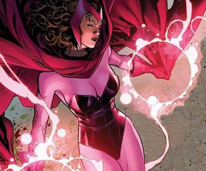 comics, Marvel, and scarlet witch image