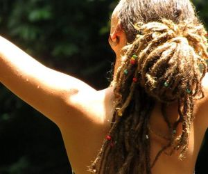 dreads, dreadlocks, and girl image