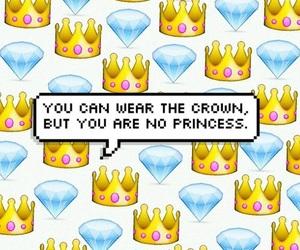 crown, princess, and emoji image