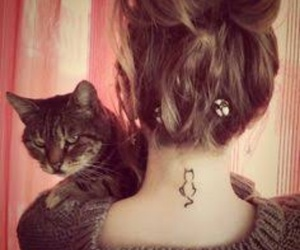 Gatos, tattoo, and hermoso image