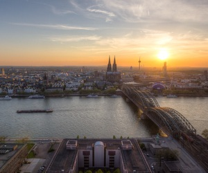 city, cologne, and deutschland image