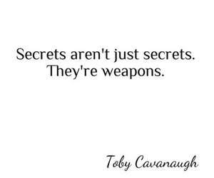 secret, weapons, and pretty little liars image