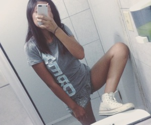 aesthetic, mirror, and shoes image