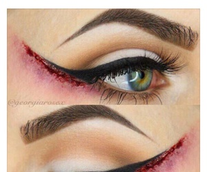 funny, lol, and eyeliner image