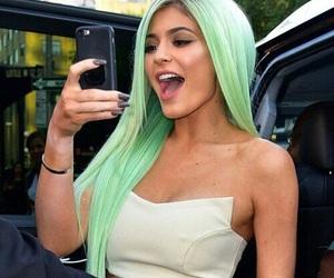 kylie jenner, hair, and kardashian image