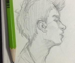 art, boy, and Hot image