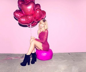 balloons, model, and mouth image