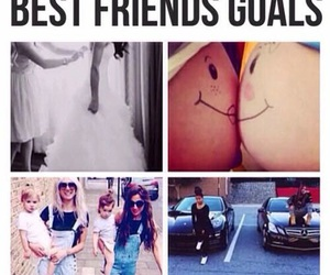 bffs, friendship, and goals image