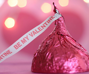 pink, valentine, and chocolate image