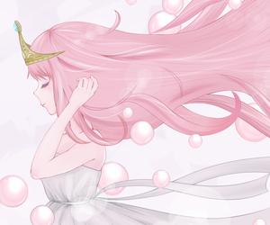 anime, girl, and princess bubblegum image