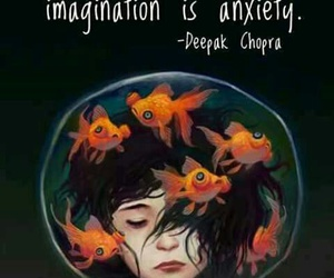 imagination, quotes, and anxiety image
