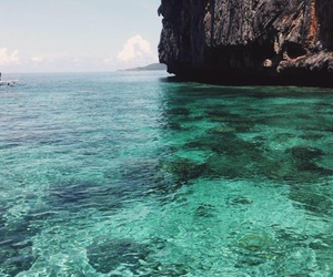 blue, green, and sea image