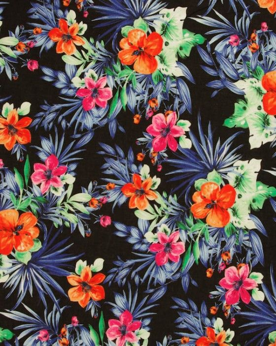 Tropical Print Wallpaper Buscar Con Google On We Heart It