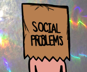 problem, grunge, and social image