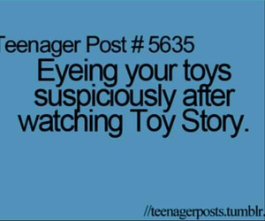 toy story, funny, and quote image