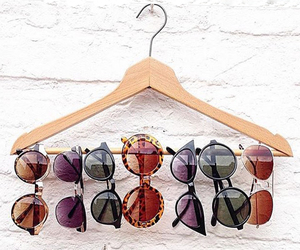 hanger and sunglasses image