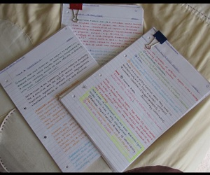 notes, study, and cute notes image