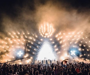 festival, edm, and music image
