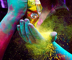 color, hands, and colors image