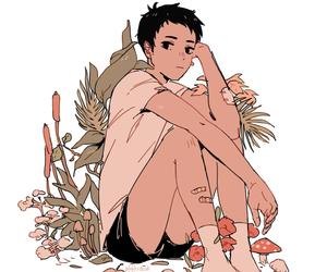 haikyuu and daichi image