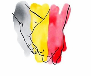 gd, prayforpeace, and prayforbrussels image