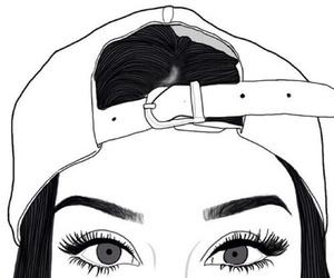 drawing, tumblr, and eyes image