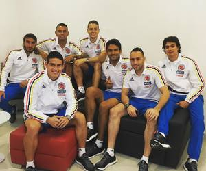 colombia, instagram, and soccer image