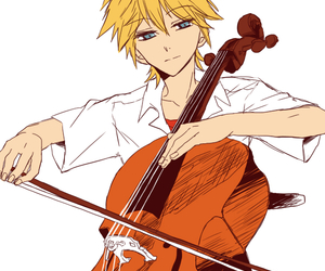 kagamine len and vocaloid image
